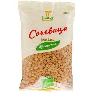 Ecorod, 400 g, lentil green, Organic