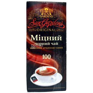 Sun Gardens, 100 пак., чай чорний, Міцний