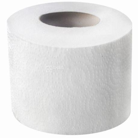 Велс, 21 м, туалетная бумага, Джамбо, Двухслойная, Белая, м/у