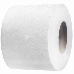 Велс, 21 м, туалетний папір, Джамбо, Двошаровий, Білий, м/у