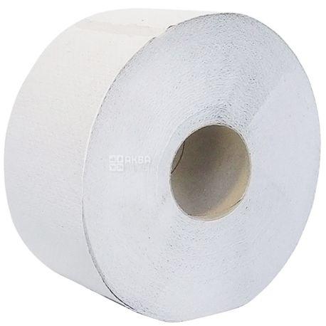 Велс, 120 м, туалетная бумага, Джамбо, Двухслойная, Серая, м/у
