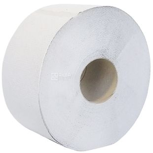 Wels, 120 m, toilet paper, Jumbo, Double layer, Gray, m / s