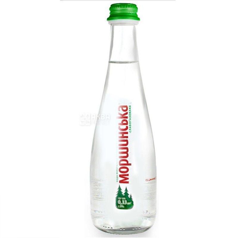 Моршинская, 0,33 л, Вода слабогазированная, Premium, стекло