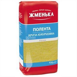 Жменька, Полента, 450 г, Кукурузная крупа