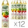 Galicia, упаковка 12 шт. по 1 л, сок, Яблочно-клубничный, м/у