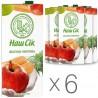 Наш Сік, упаковка 6 шт. по 1,93 л, сік, Яблучно-морквяний сік, м/у