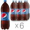 Pepsi-Cola, pack of 6 pcs. 2 l, sweet water, PET