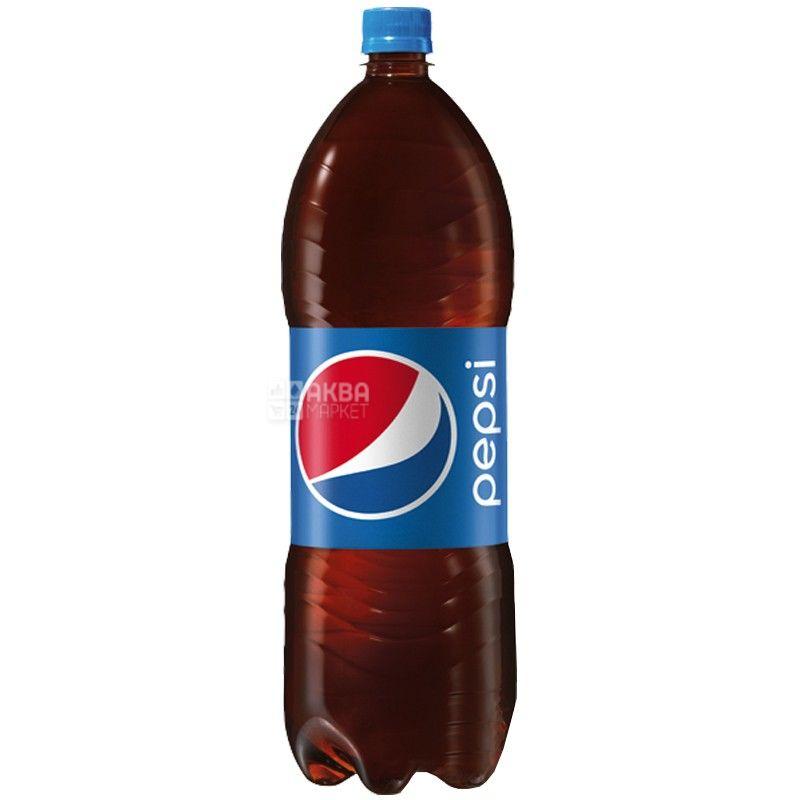 Pepsi-Cola, упаковка 6 шт. по 2 л, сладкая вода, ПЭТ