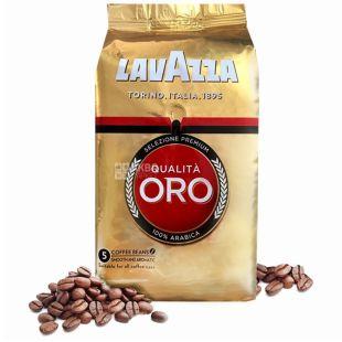 Lavazza, Qualita Oro Original, 1 кг, Кава Лаваца, Куаліта Оро Ориджинал, середнього обсмаження, в зернах