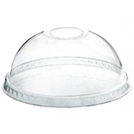 Dessert glass with a dome cover transparent 250 ml, 50 pcs.