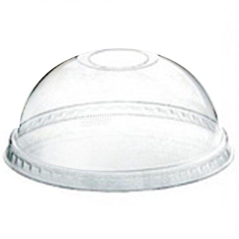 Десертный стакан с купольной крышкой прозрачный 250 мл, 50 шт.