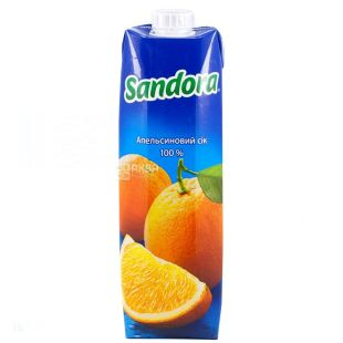 Sandora, Апельсиновий, 0,95 л, Сандора, Сік натуральний