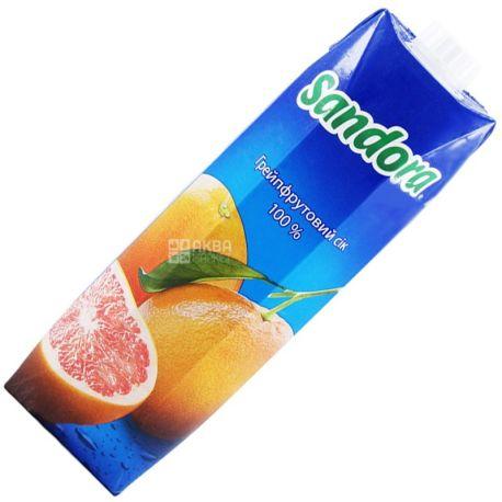 Sandora, Грейпфрутовый, 0,95 л, Сандора, Сок натуральный