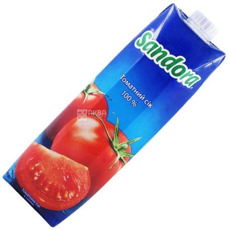 Sandora, Томатный, 0,95 л, Сандора, Сок натуральный, с солью