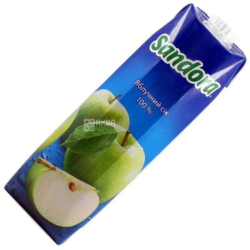 Sandora, 0,95 л, сок, Яблочный, м/у