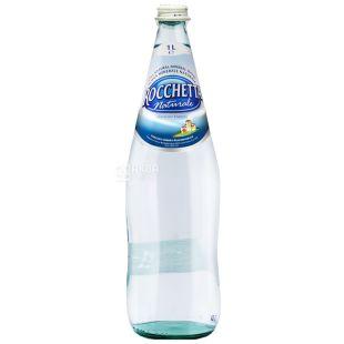Rocchetta, 1 л, Вода негазированная, Naturale, стекло