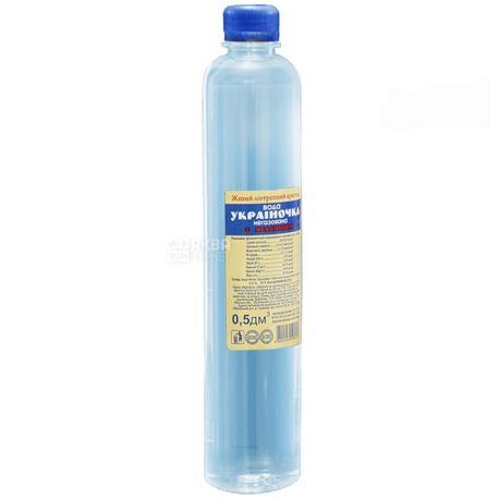 Украиночка, 0,5 л, ПЭТ, Упаковка 4 шт., Вода негазированная с Меланином, ПЭТ
