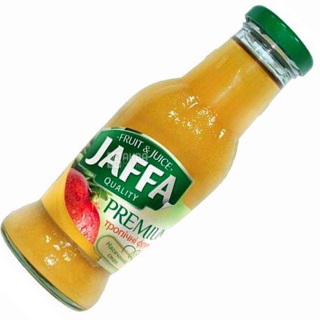 Jaffa, Premium nectar, Тропічні фрукти, 0,25 л, Джаффа, Нектар натуральний, скло