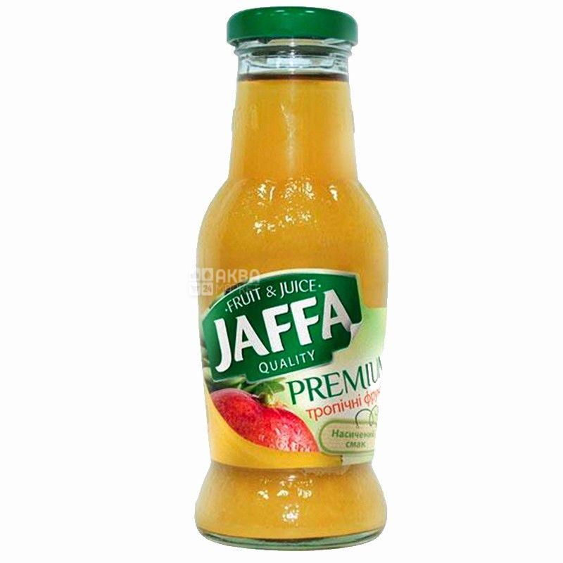 Jaffa, 0,25 л, нектар, Тропические фрукты, стекло