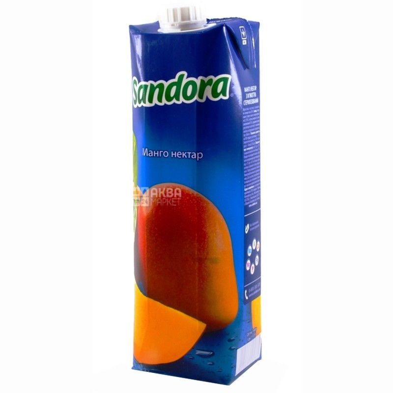 Sandora, Манго, 0,95 л, Сандора, Нектар натуральний