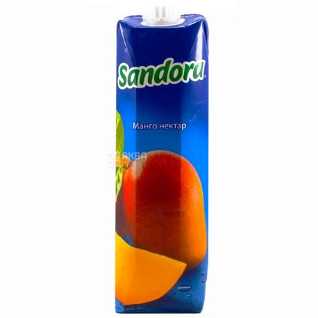 Sandora, Манго, 0,95 л, Сандора, Нектар натуральный