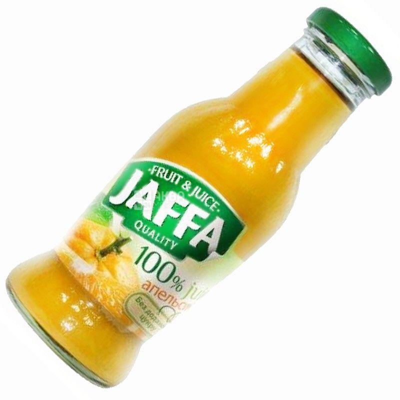 Jaffa, Orange, 0,25 л, Джаффа, Сік Апельсин, без додавання цукру, скло