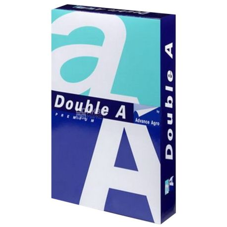 Double A, 500 л. 80г/м2, папір класу А4+