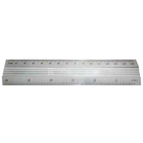 Klerk, 15 см, лінійка, Металева