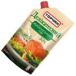 Torchin, 300 g, 30%, sauce, mayonnaise, deli, doy-pack