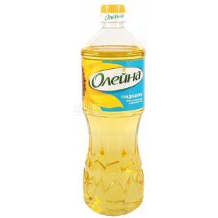 Олейна Традиционная, 0,85 л, Масло подсолнечное, Рафинированное