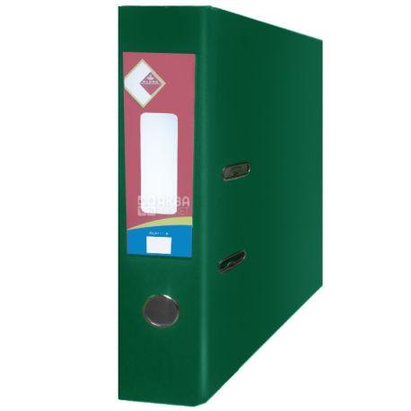 Klerk, 7,5 см, А4, папка-регистратор, Зеленая