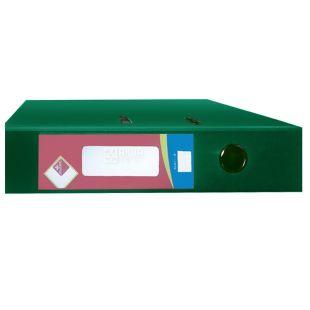 Klerk, 7,5 см, А4, папка-реєстратор, Зелена
