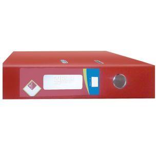 Klerk, 7,5 см, А4, папка-реєстратор, Червона