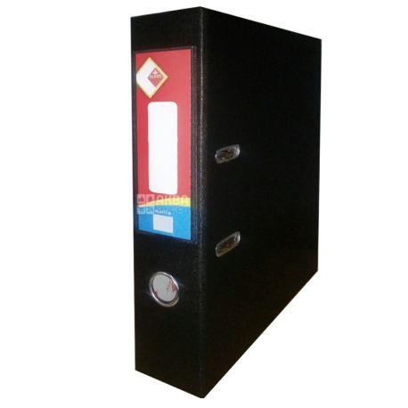 Klerk, 7,5 см, А4, папка-регистратор, Черная