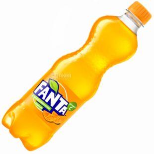 Fanta, 1,5 l, sweet water, With orange juice, PET