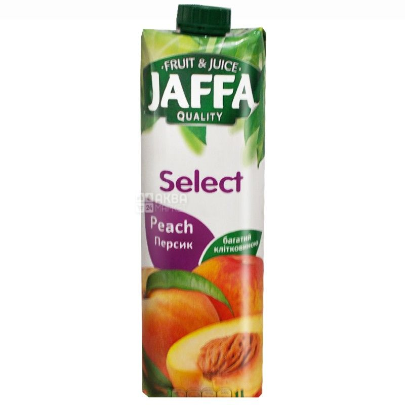 Jaffa, 1 л, нектар, Персик, м/у