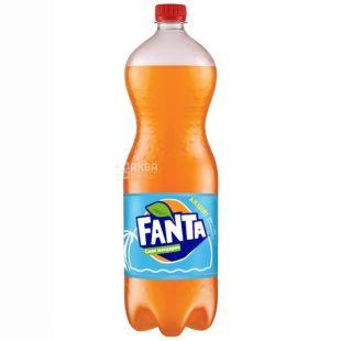 Fanta, 1,5 л, солодка вода, Мандарин, ПЕТ