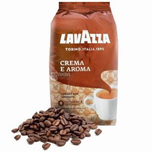 Lavazza Crema e Aroma, Кофе зерновой, 1 кг