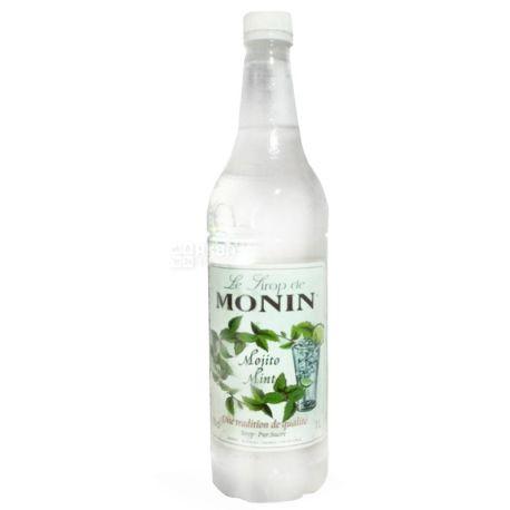 Monin, Mojito Mint, 1 л, Cироп Монин, Мохито, ПЭТ