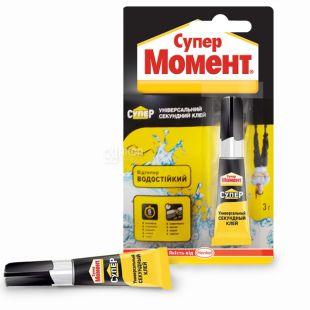 Super Moment, 3 g, glue, Instant, Universal