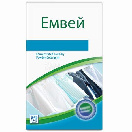Эмвей, 1 кг, концентрированный стиральный порошок, Premium