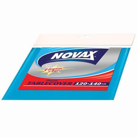 Novax, Скатерть полиэтиленовая, ассорти, 120х140 см