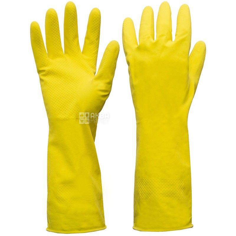 Novax, размер L, перчатки хозяйственные, Упрочненные, Home Star