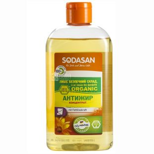 Sodasan, 0.5 l, concentrated dishwashing detergent, Orange, PET
