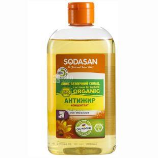 Sodasan, 0,5 л, средство-концентрат для мытья посуды, Апельсин, ПЭТ