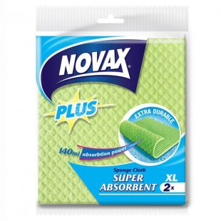 Novax Plus, 2 шт., серветки вологопоглинаючі