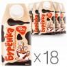 Burenka, packaging 18 pcs. on 500 g, 10%, cream, Ultrapasteurized