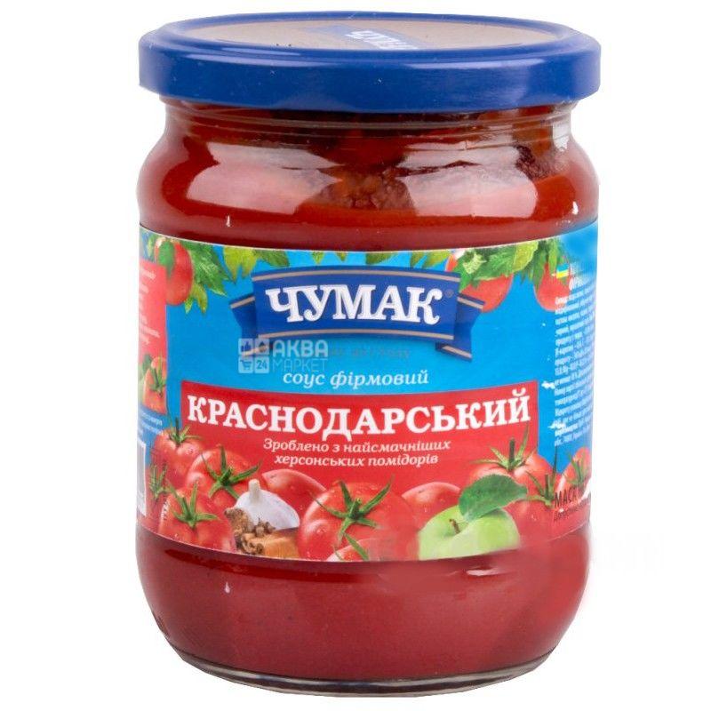 Чумак, 500 мл, соус, Фирменный, Краснодарский, стекло