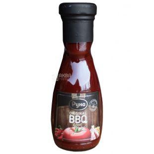 Руна, 235 г, соус, Оriginal BBQ, скло