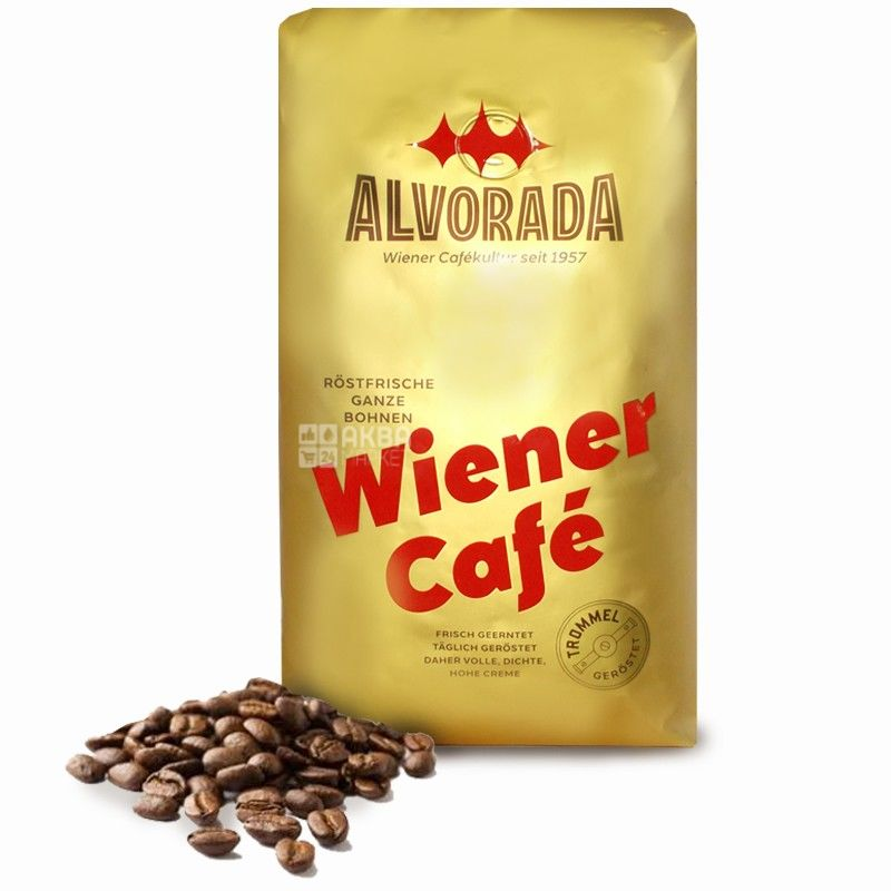 Alvorada, 1 кг, кофе, зерна, Wiener Kaffee